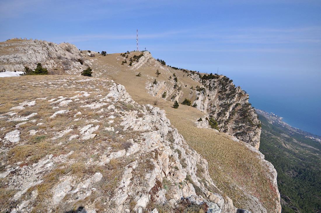 ай-петринская яйла горы Крыма фото