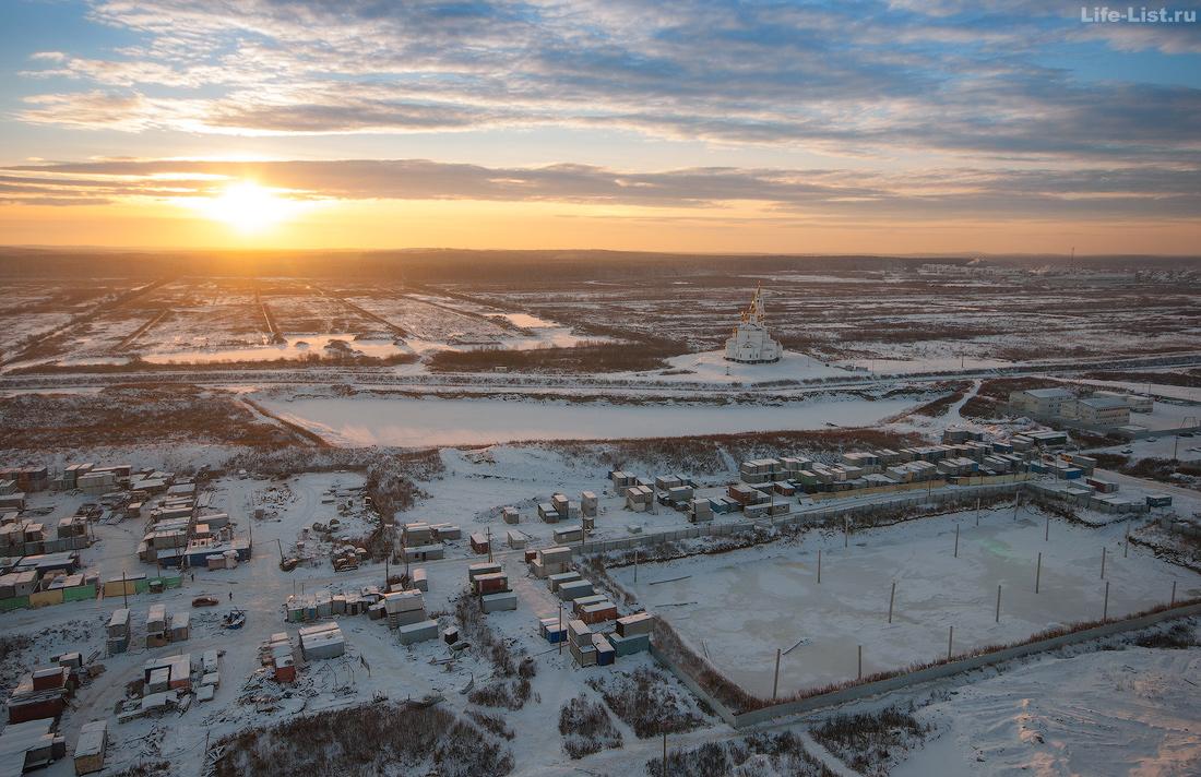 пустырь будущий преображенский парк Академический 2015 Екатеринбург