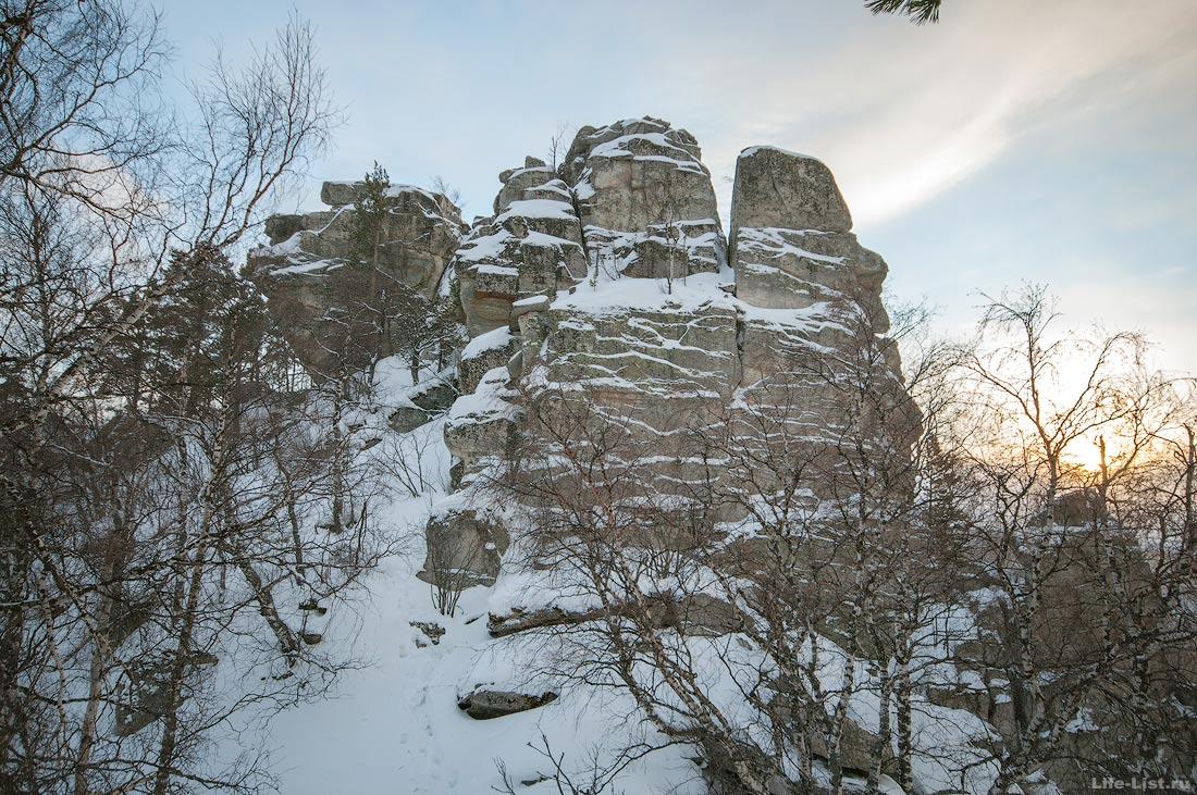 хребет Алабия Южный Урал фото скал