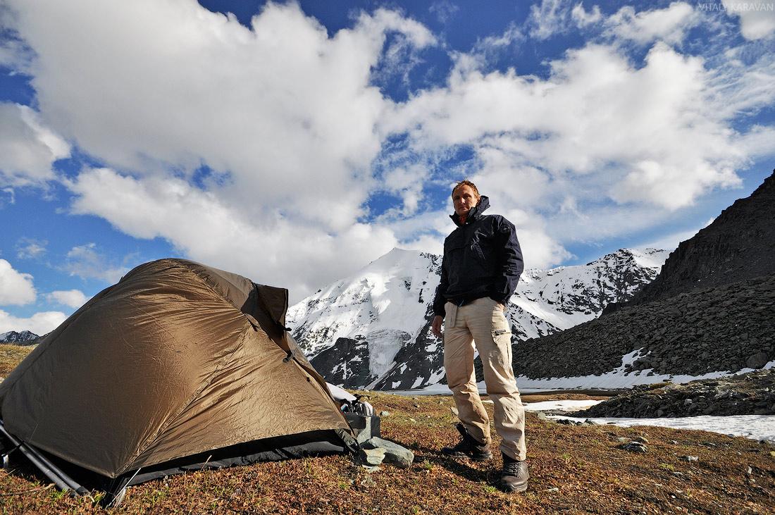 Алтай стоянка долина семи озер Виталий Караван