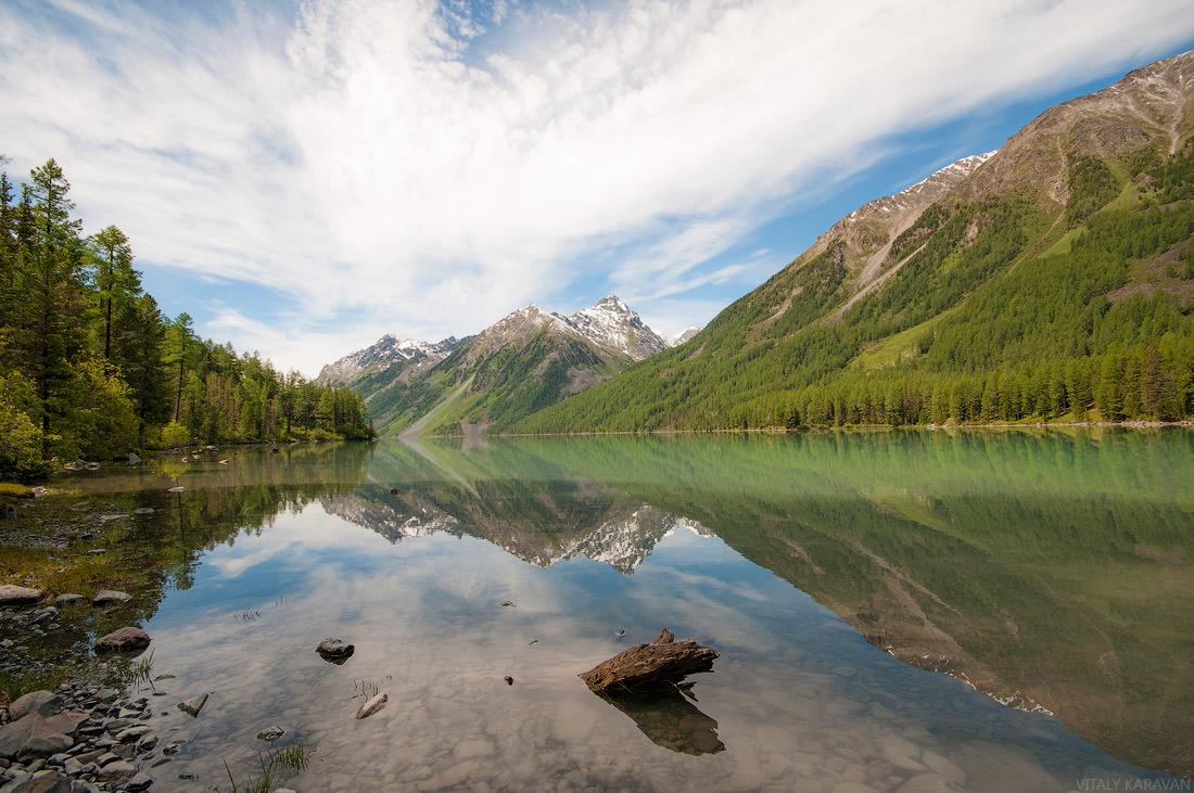 Кучерлинское озеро Алтай июль