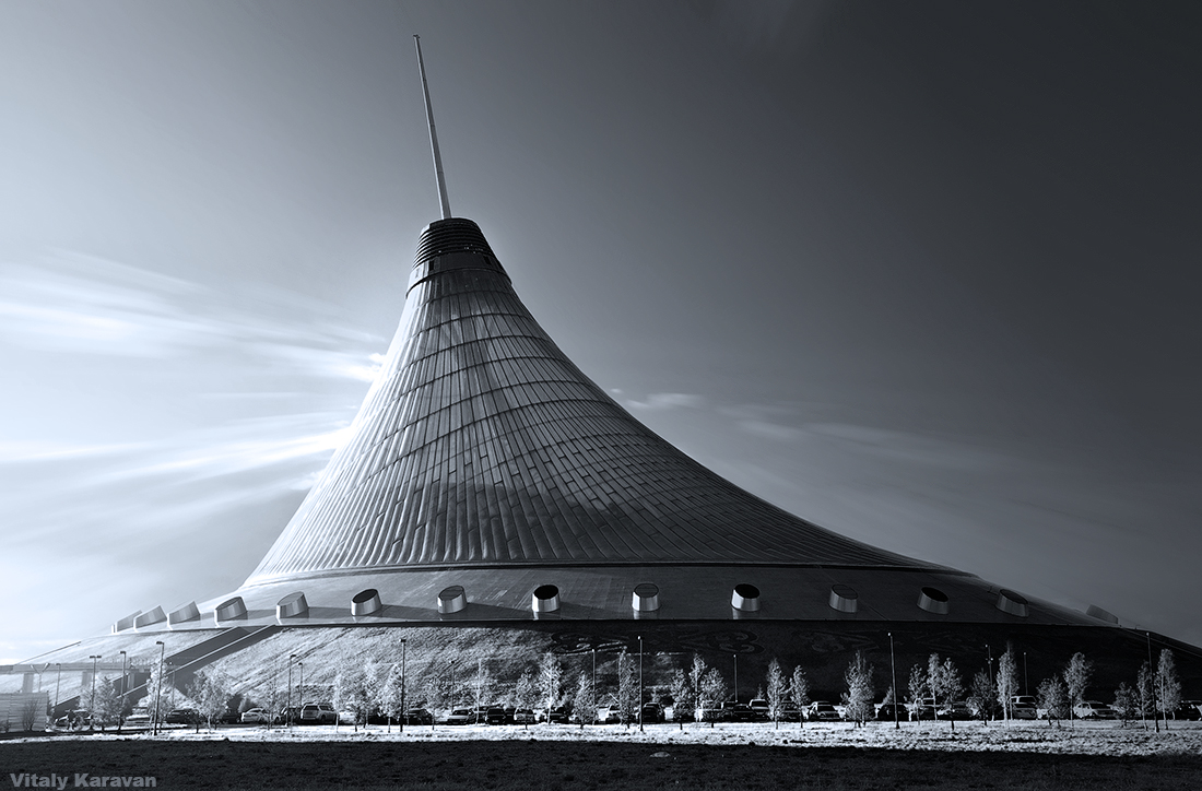 Астана Хан Шатер красивое фото Фотограф Виталий Караван
