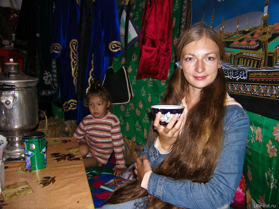 юрта кафе в Аркаиме