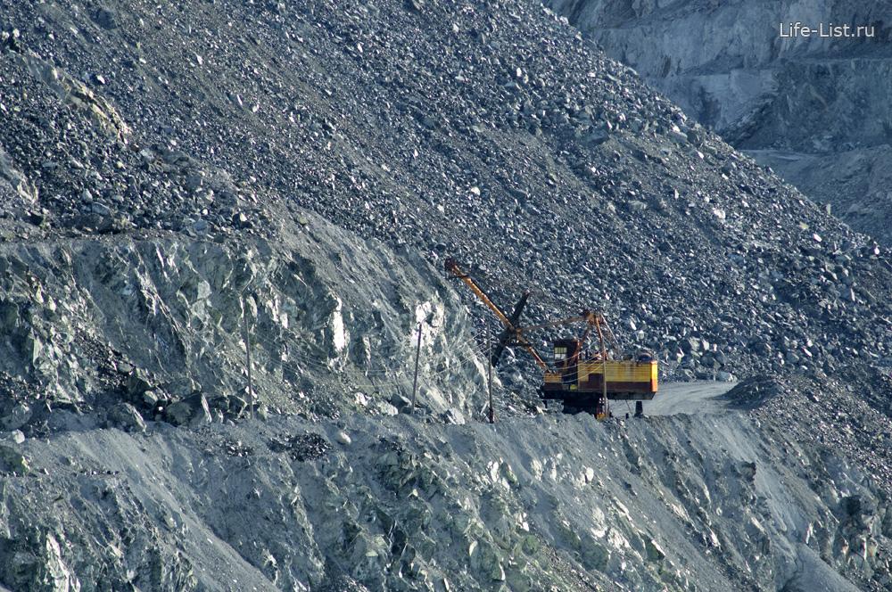 экскаватор асбестовский карьер красивые фото