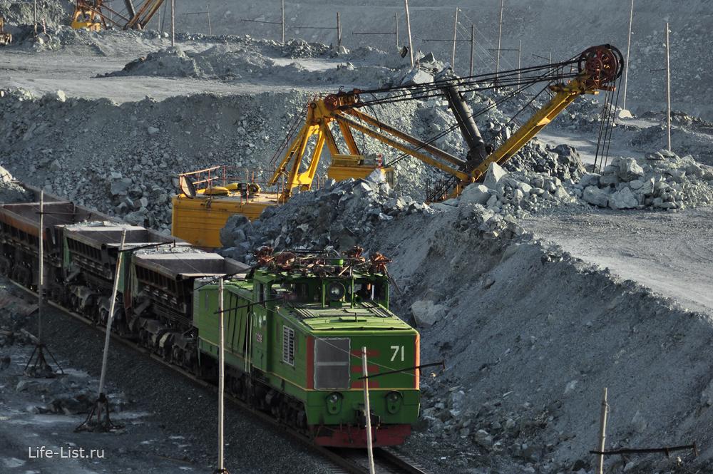 погрузка руды асбестовский карьер красивые фото