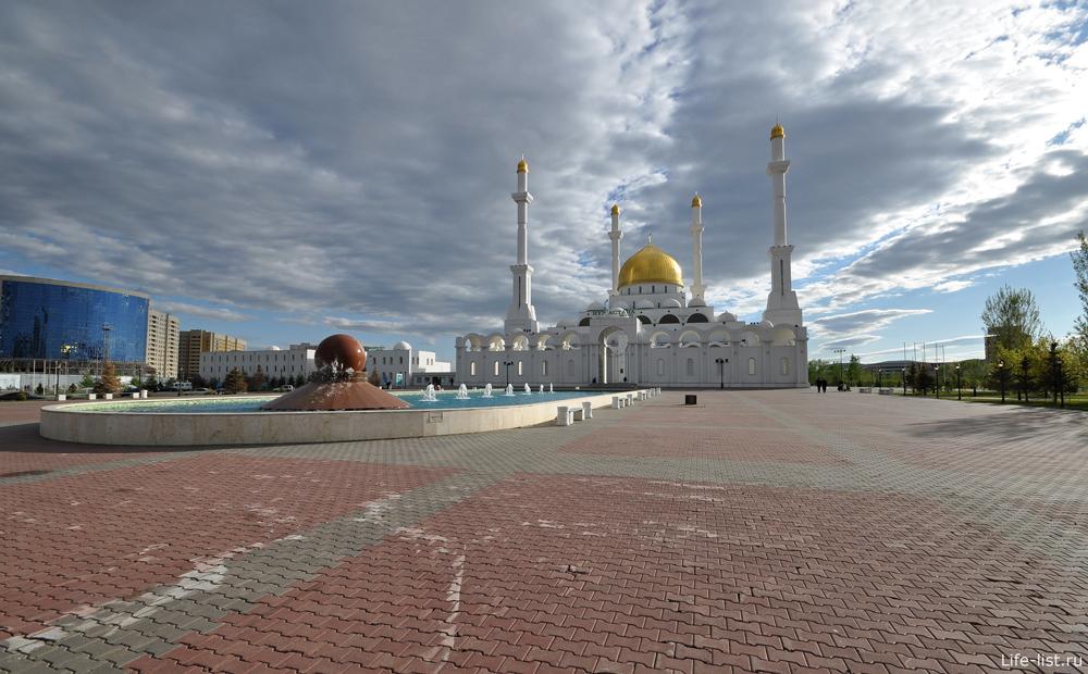 мечеть нур астана в казахстане