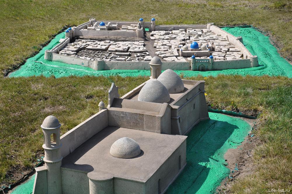 Астана парк миниатюр