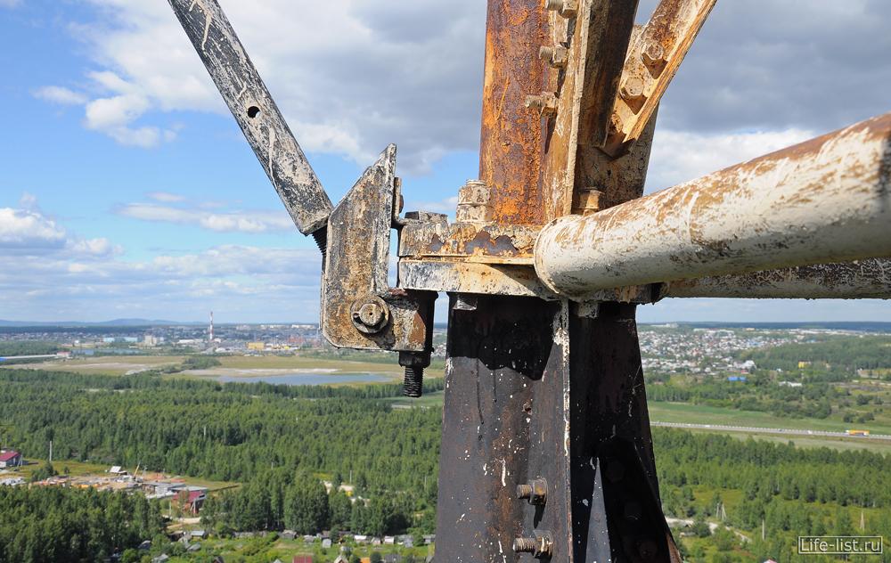 радиомачта вышка в Екатеринбурге
