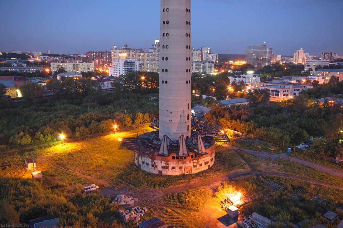 Территория вокруг заброшенной башни 2015г. Екатеринбург