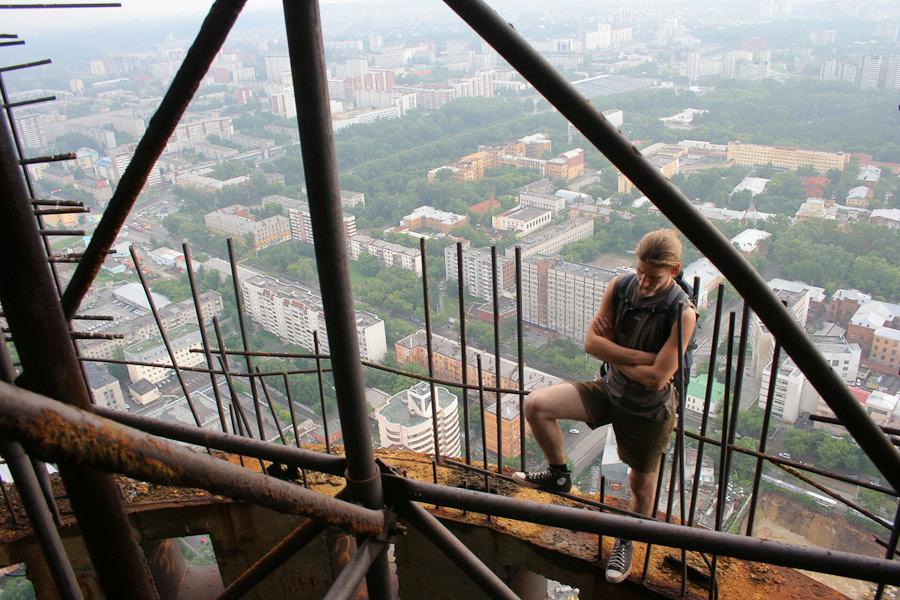 покорители недостроенной башни Екатеринбург