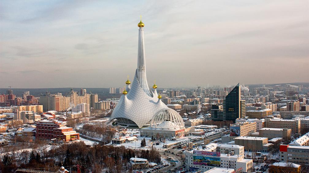 Проект реконструкции башни в Екатеринбурге