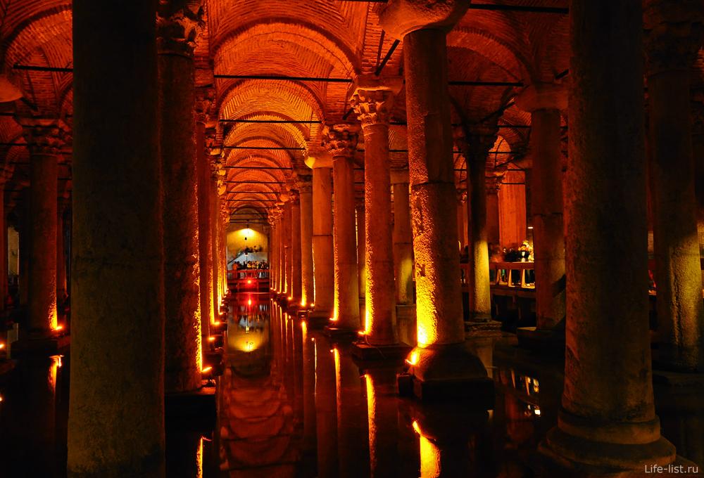 Подземные цистерны базилика