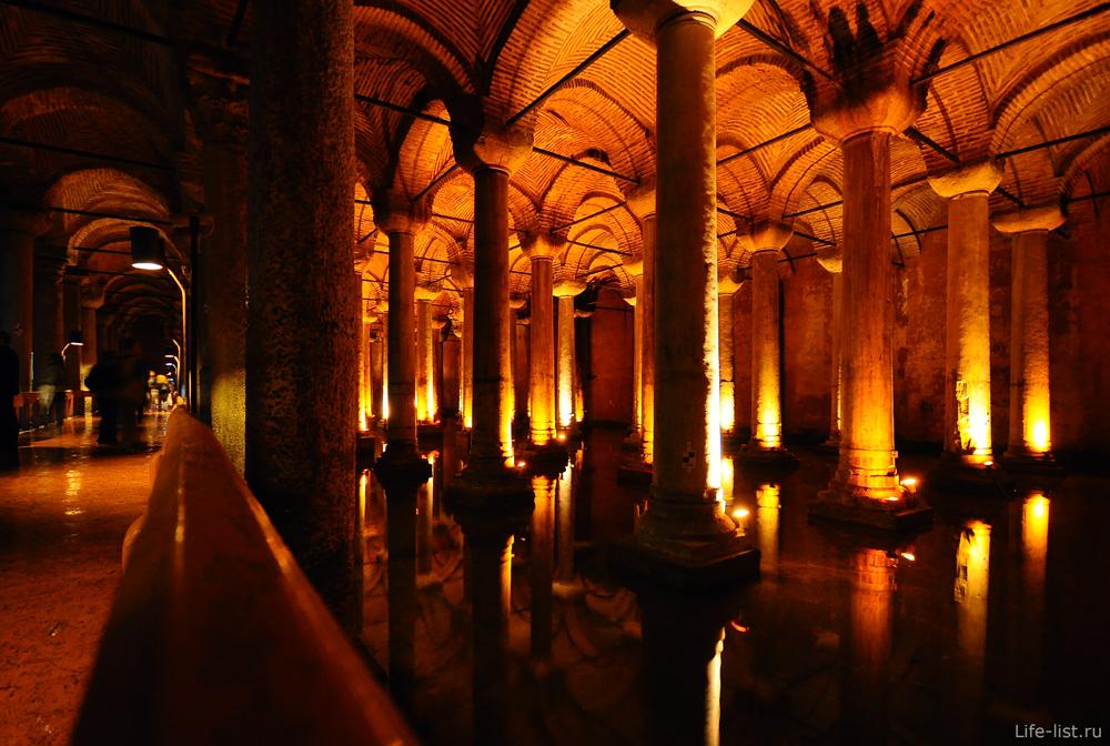 Стамбул цистерны базилика