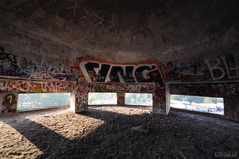 Пространство под баком Белая башня в Екатеринбурге