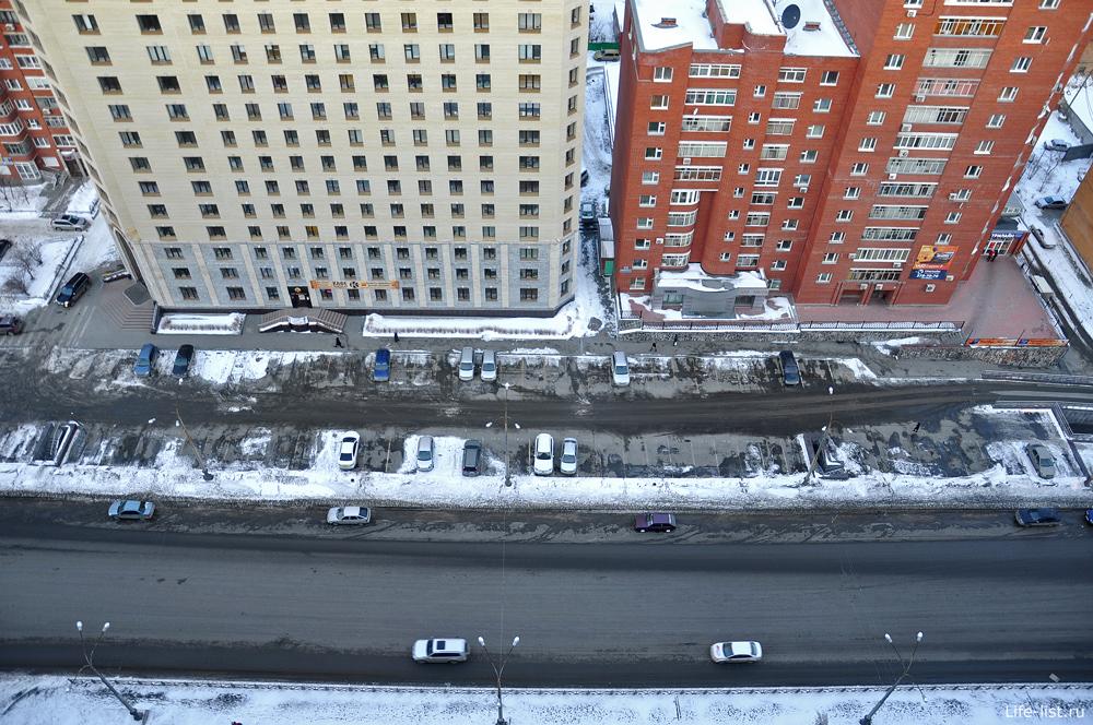 Улица Белинского вид сверху Екатеринбург