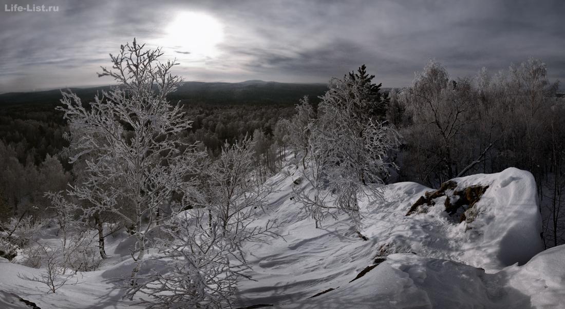 поход на Скалы Белый камень Полевской Урал