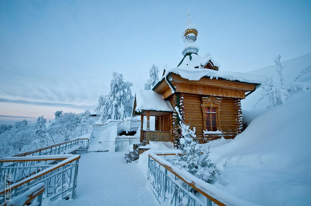 Белогорский монастырь домик с купелью
