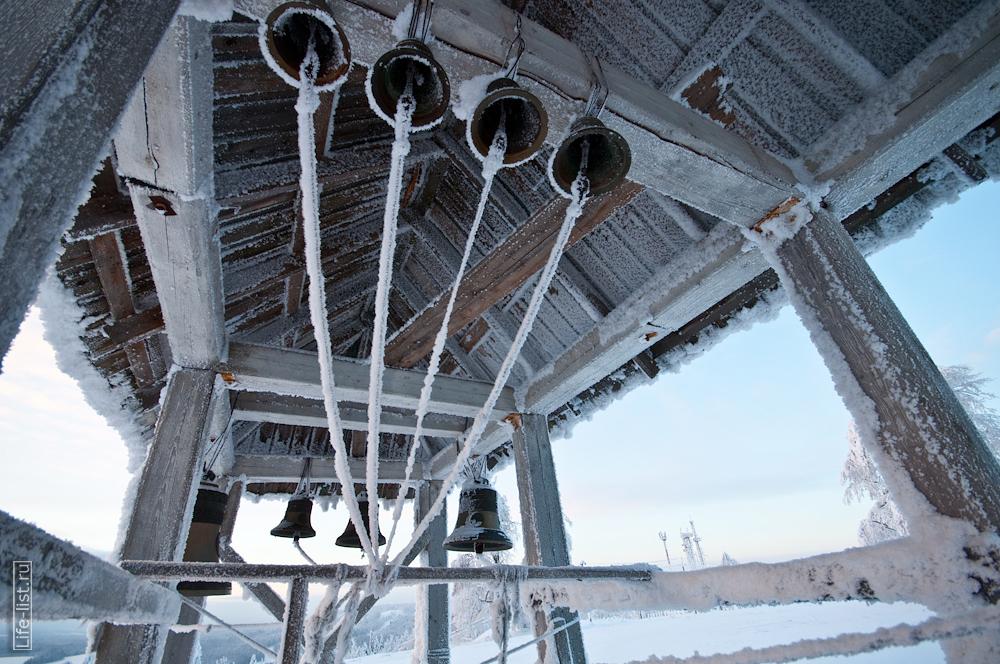 колокола белогорского николаевского монастыря звонница