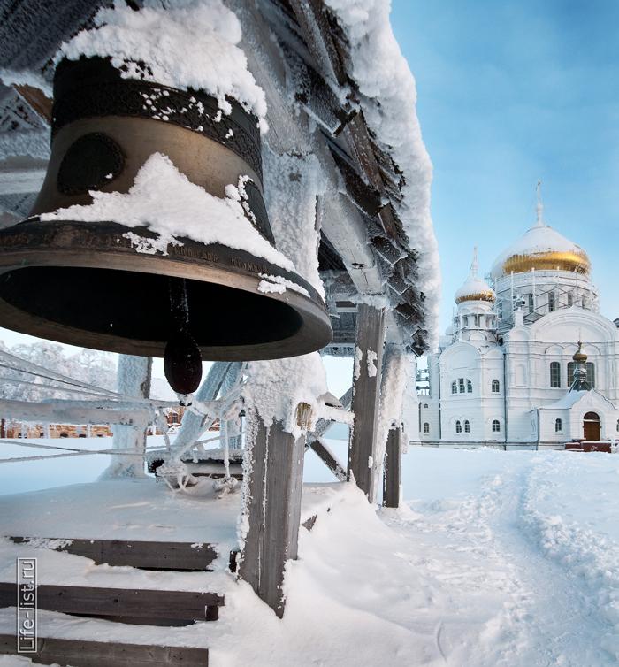 самый крупный колокол мужской монастырь на белой горе Пермь