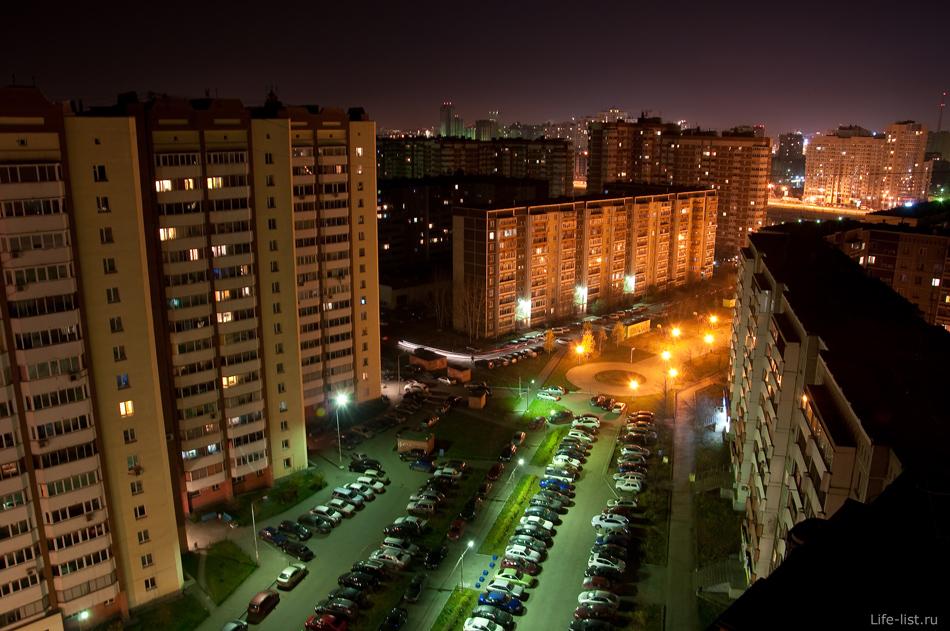 Ночной Екатеринбург. Ботаника