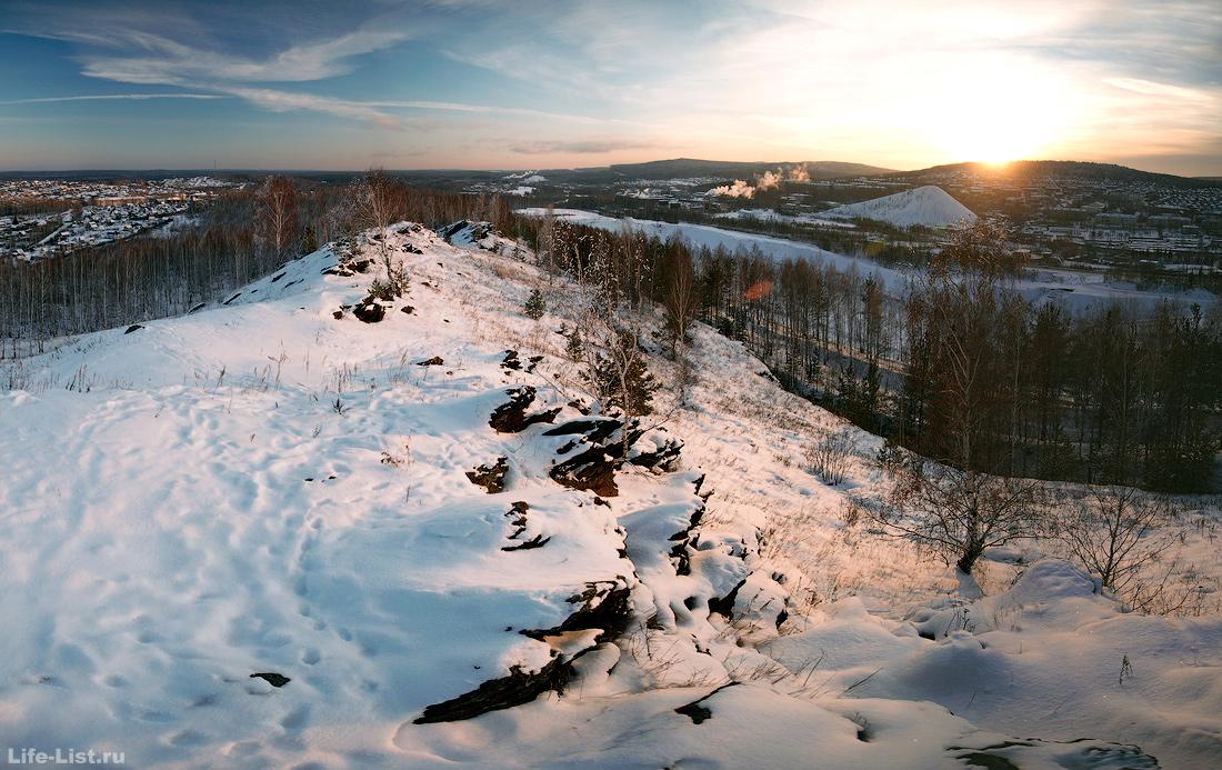 гора Лабаз в Дегтярске