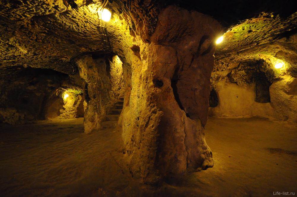 Турция Каппадокия подземные города
