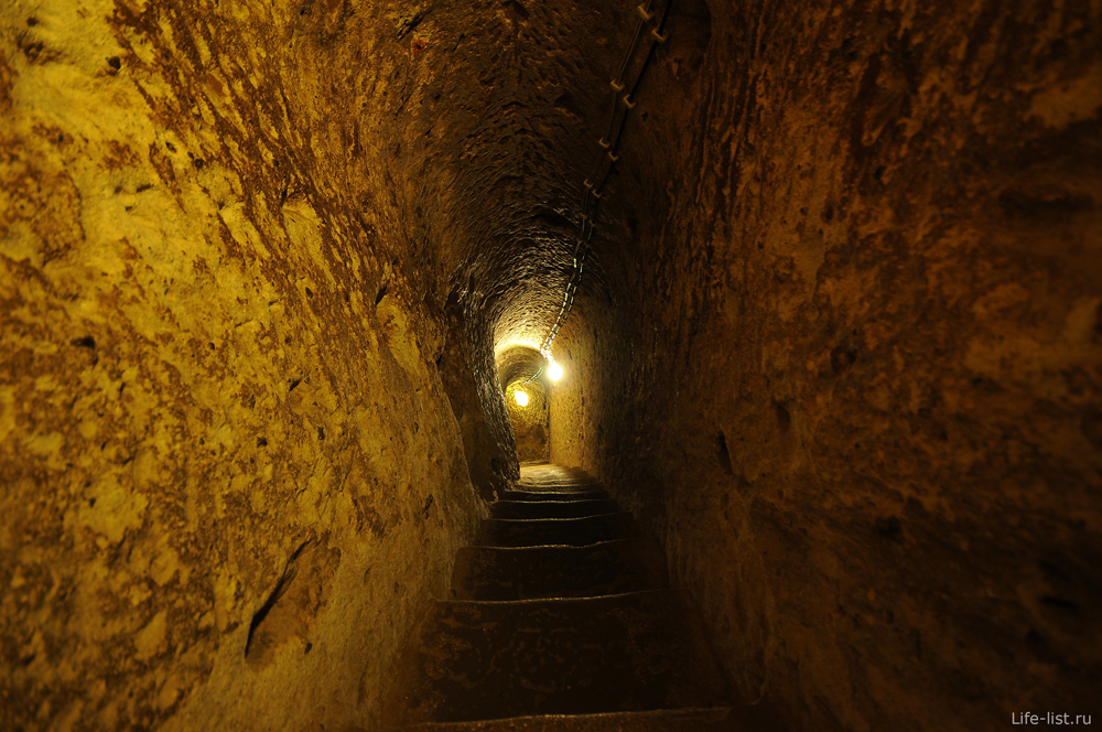 Узкий коридор Деринкую город