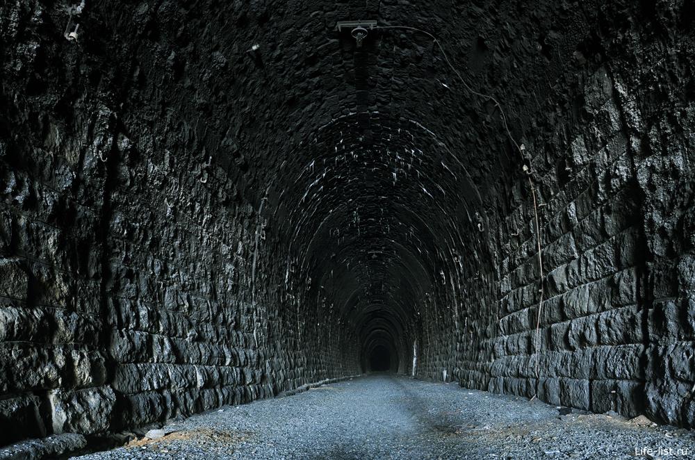 Тоннель в дидино