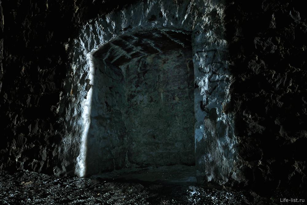 Дидинский ж\д тоннель углубления в стене