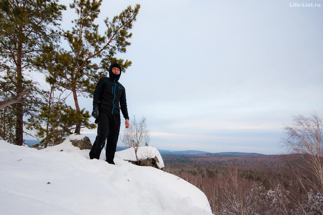 на вершине скалы Воробей Дегтярск