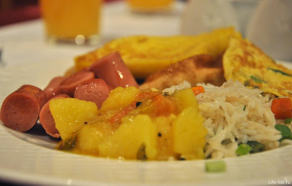 Блюдо в ОАЭ