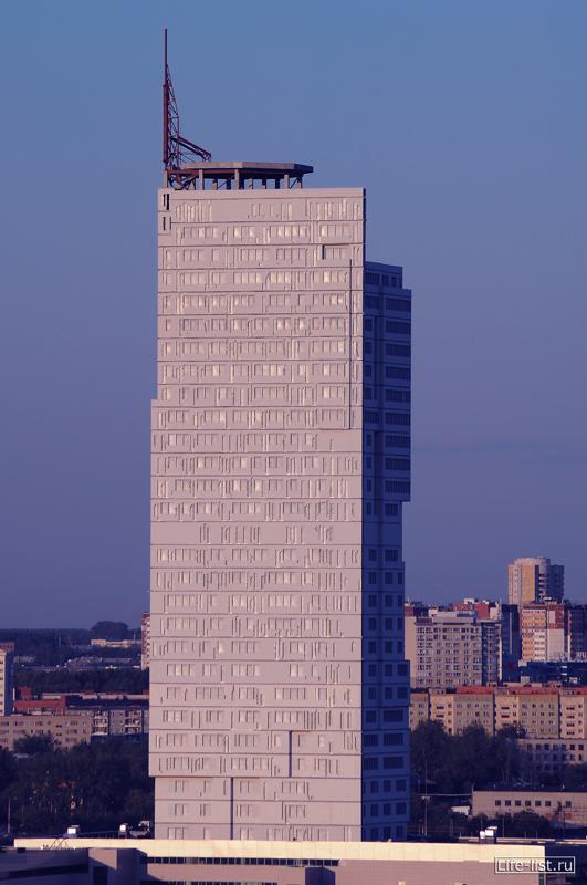 БЦ Призма екатеринбург фото с высоты