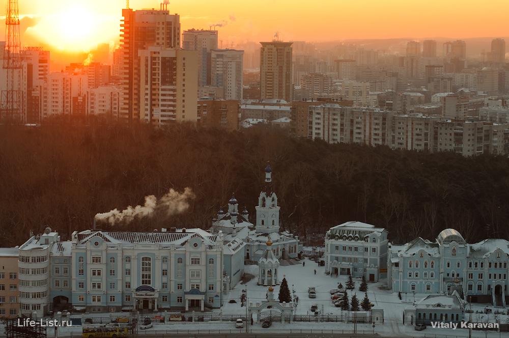 Иоанно-предтеченский кафедральный собор на Репина Екатеринбург