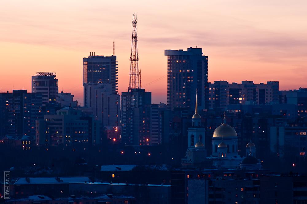 Екатеринбург фотограф Виталий Караван собор Александра невского московская горка