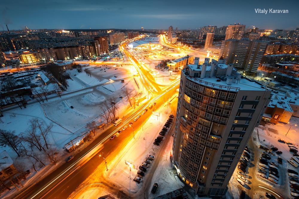 Екатеринбург с высоты Ботаника Шварца Дирижабль фото Vitaly Karavan