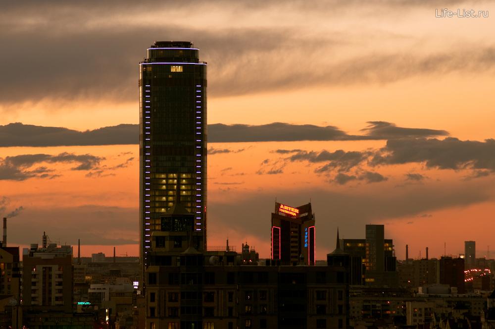 Екатеринбург с высоты красивые фотографии Высоцкий фотограф Виталий Караван