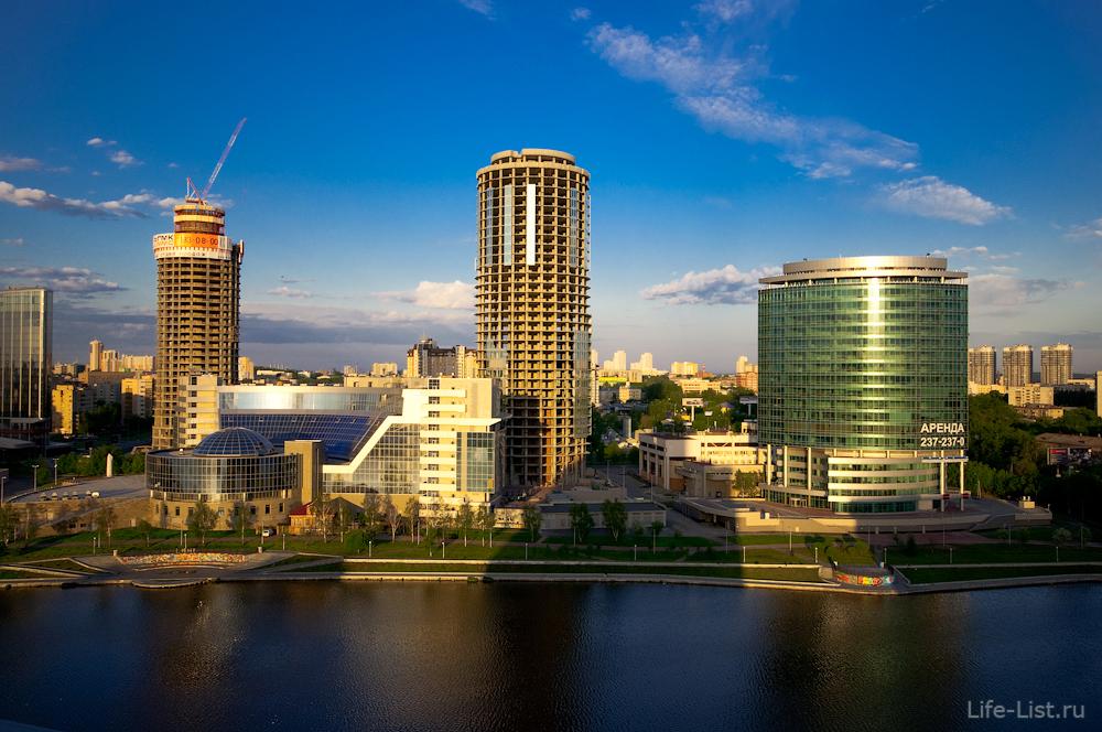 Красивое фото Екатеринбург-Сити фото Виталий Караван