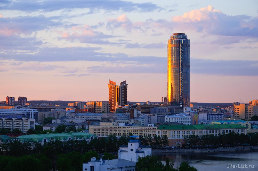 Небоскреб Высоцкий красивая фотография