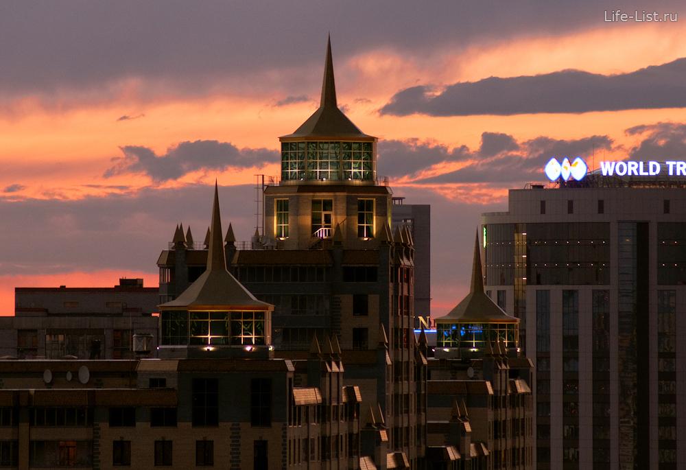 дом с башенками на Белинского Екатеринбург