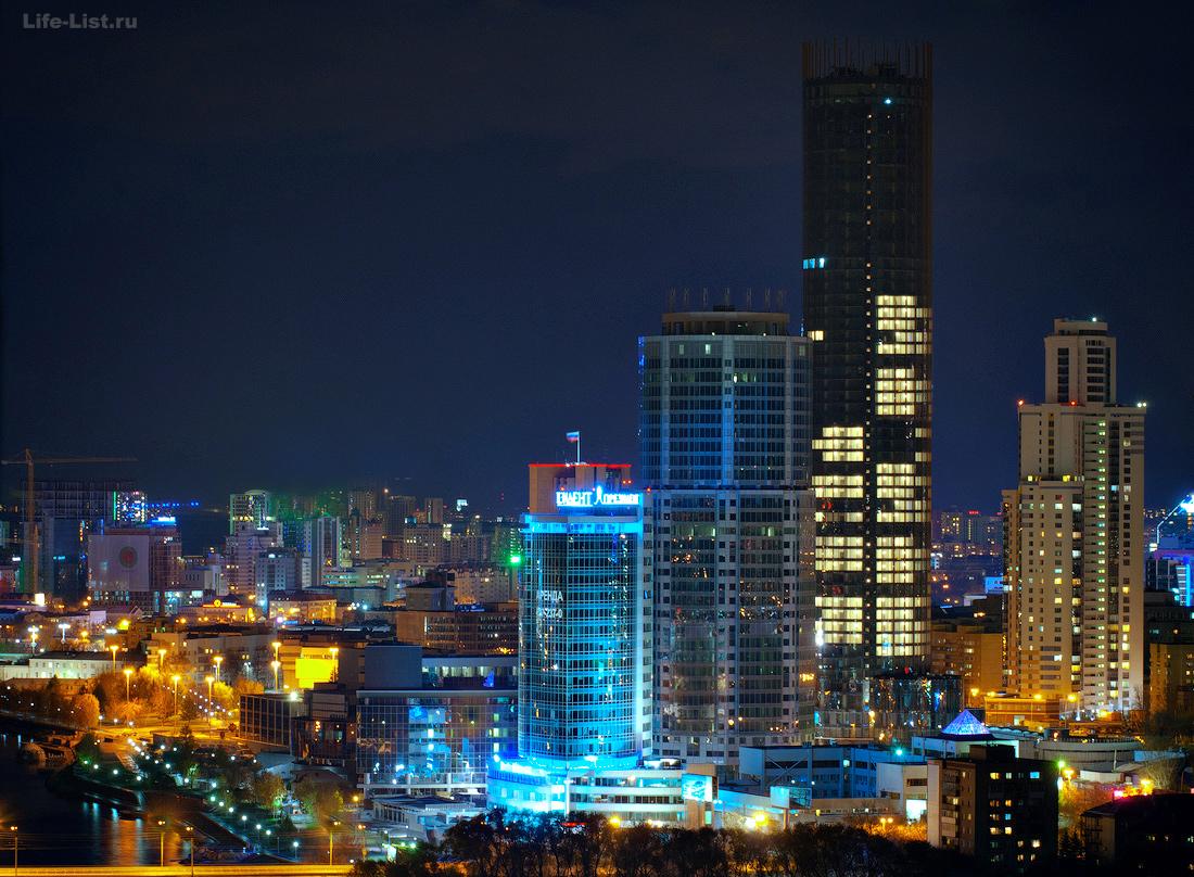 Екатеринбург-Сити фото с высоты