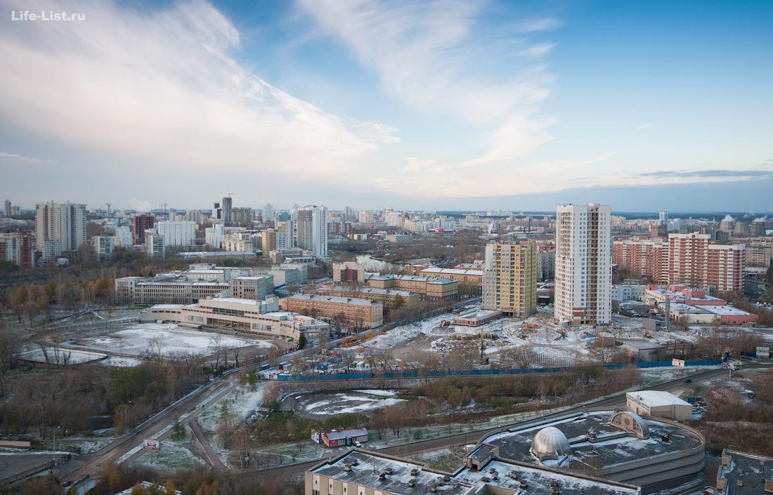 Уральский Государственный Университет путей сообщения с высоты
