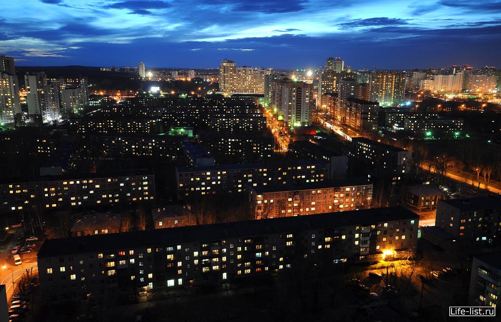 Спальный район Екб ночное фото улица авиационная 8 марта