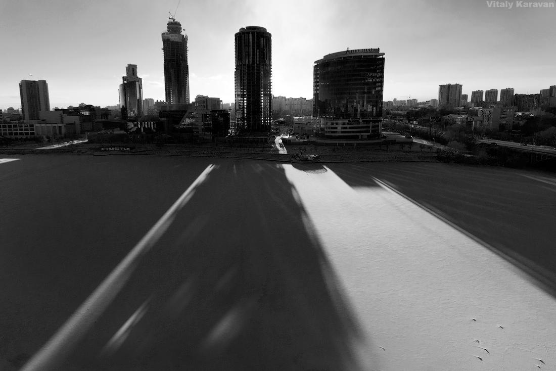 Екатеринбург сити зима 2014 фото Виталий Караван