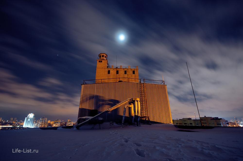 башня мукомольного завода в Екатеринбурге зернохранилище фото