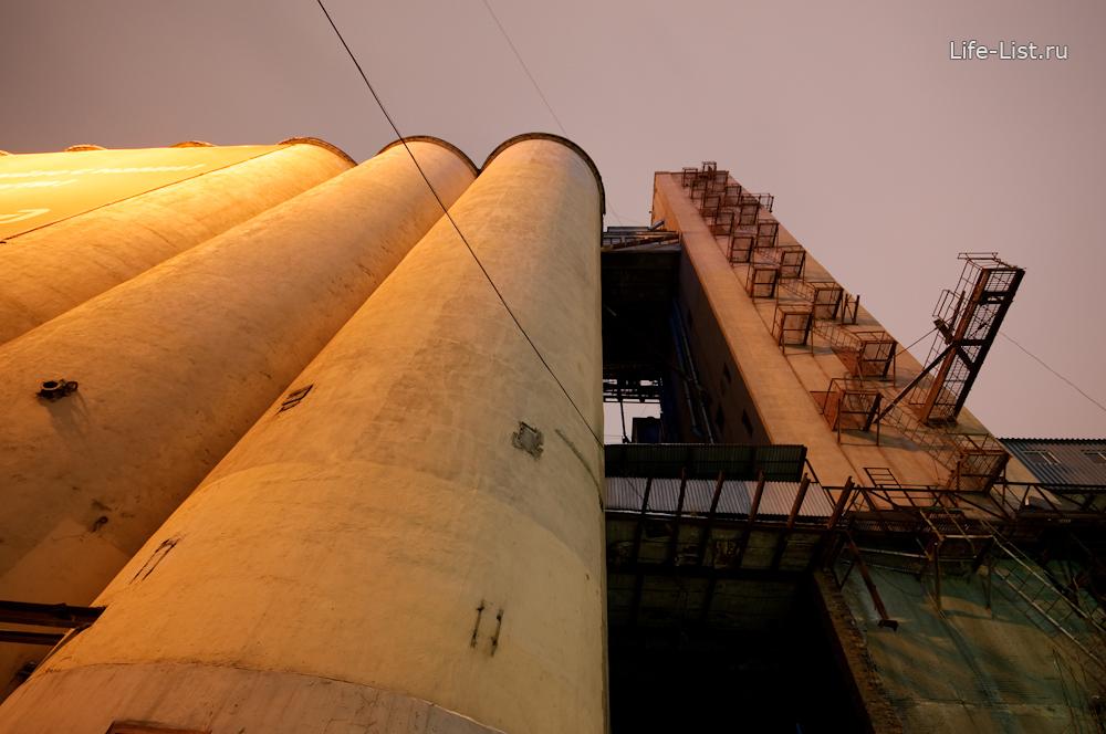 хранилище зерна с мукой мукомольный завод в Екатеринбурге