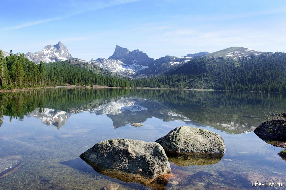 озеро Светлое в парке Ергаки Саяны