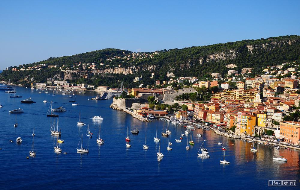 Лазурный берег франции фото красивое