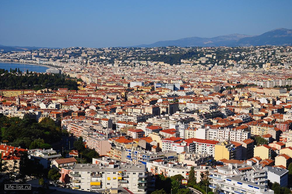 Ницца фото с высоты Франция Nice