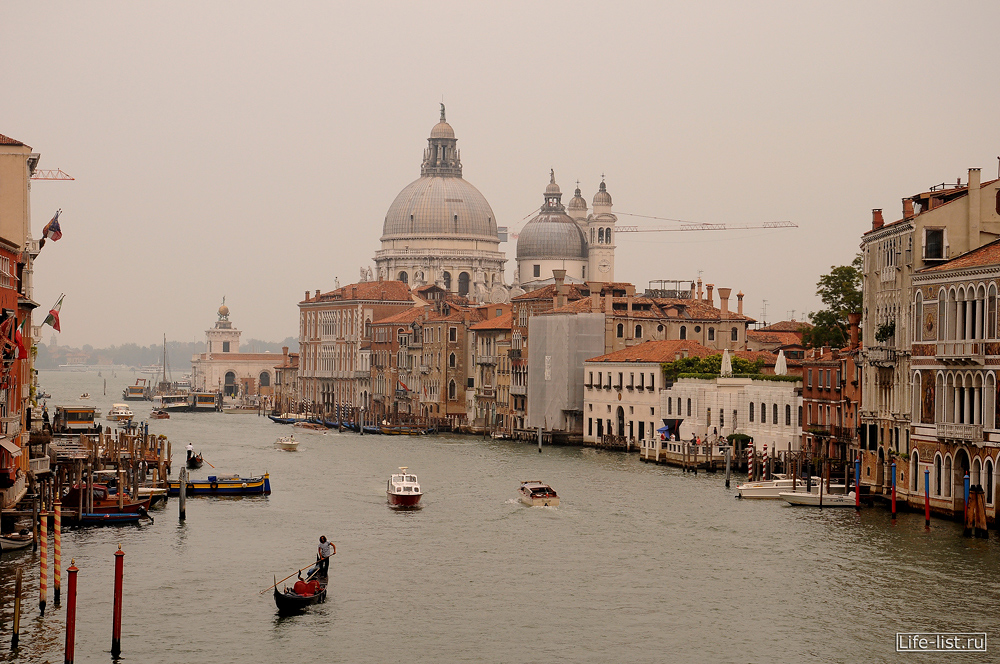 Гранд Канал Венеция Италия красивые фото Виталий Караван