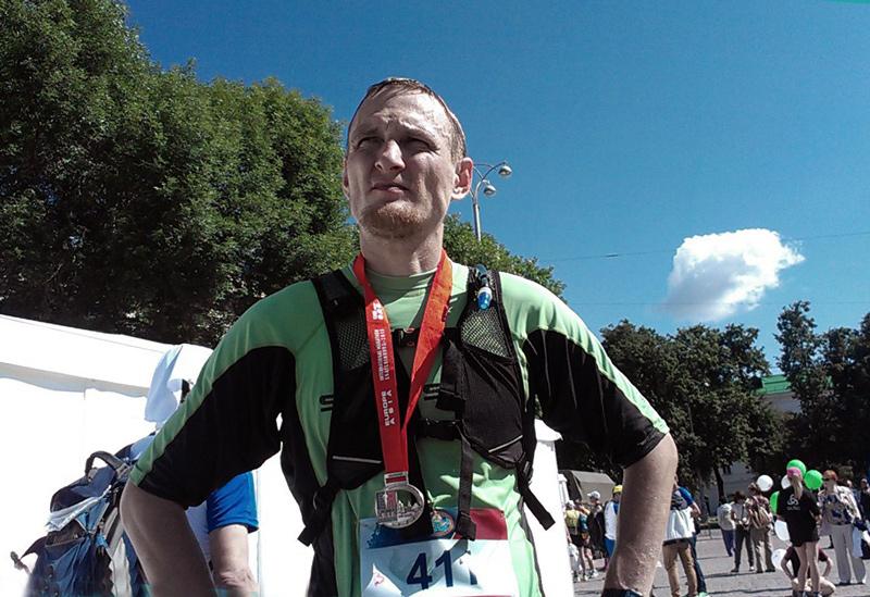 Виталий Караван на марафоне Европа-Азия